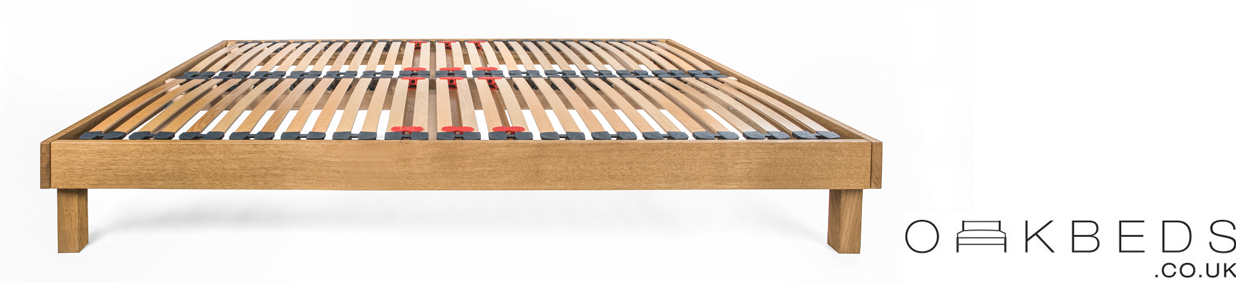 Sparkford Solid Oak Bed Frame with Interchangeable Bed Legs